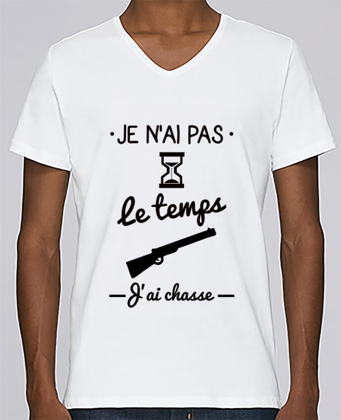 T-shirt Col V Homme Stanley Relaxes Pas le temps j