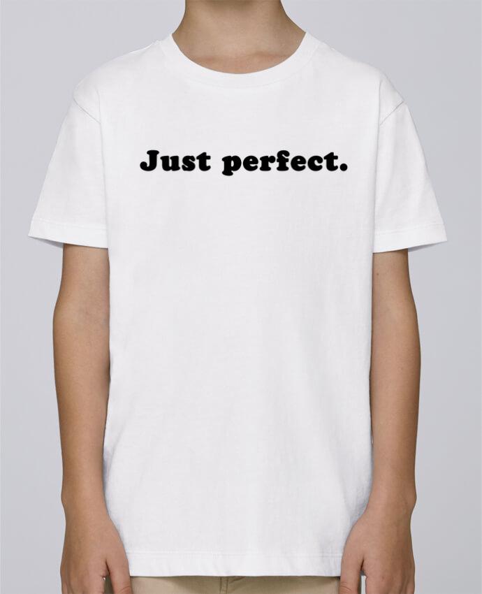 Tee Shirt Garçon Stanley Mini Paint Just perfect par Les Caprices de Filles