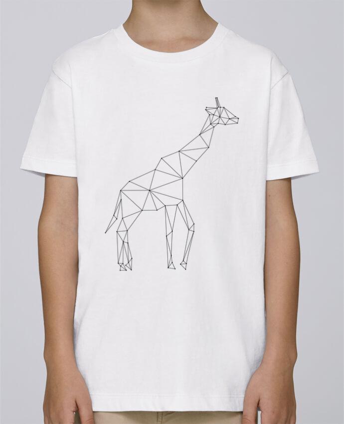 Tee Shirt Garçon Stanley Mini Paint Giraffe origami par /wait-design