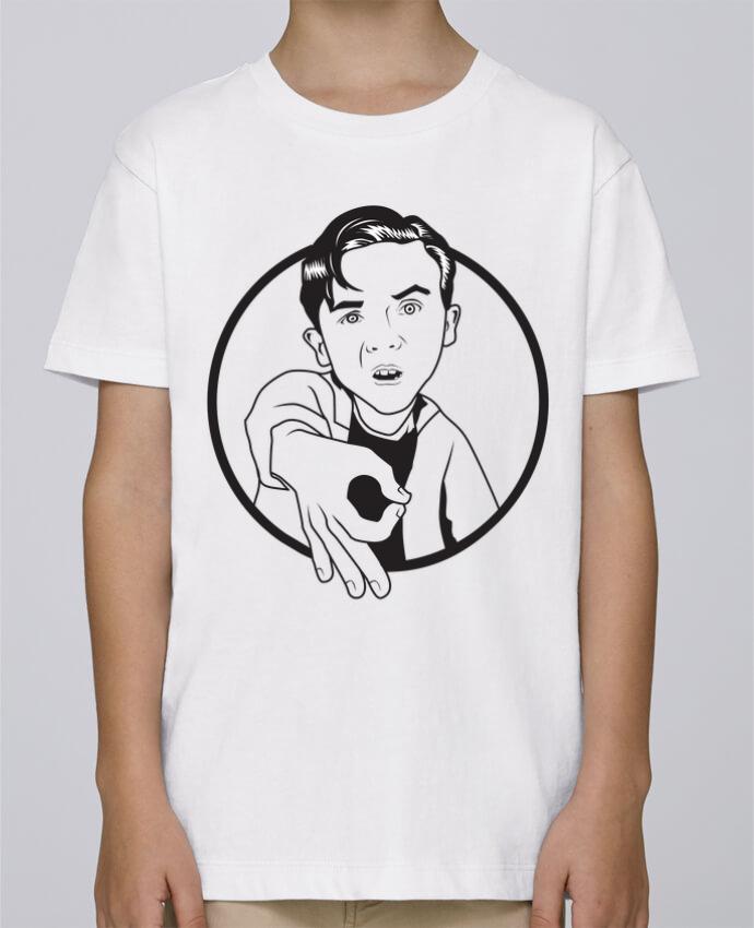 Tee Shirt Garçon Stanley Mini Paint Malcolm, jeu de l'oeil par tunetoo