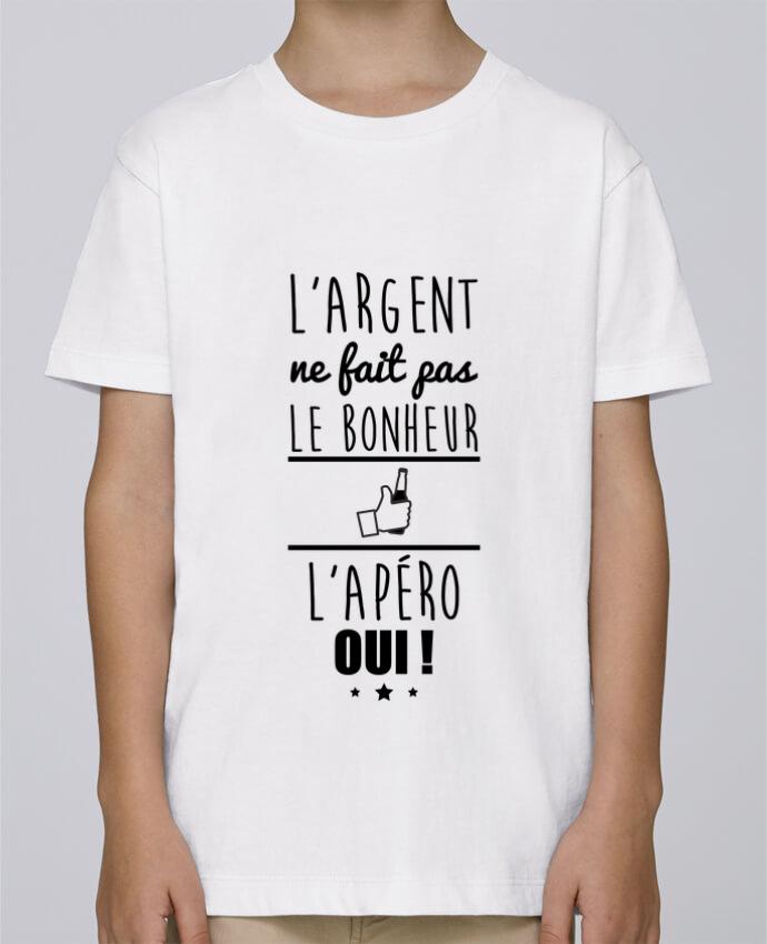 Tee Shirt Garçon Stanley Mini Paint L'argent ne fait pas le bonheur l'apéro oui ! par Benichan