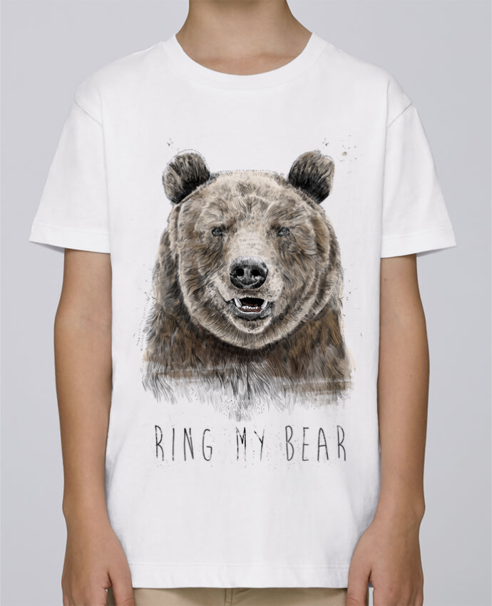 Tee Shirt Garçon Stanley Mini Paint Ring my bear par Balàzs Solti