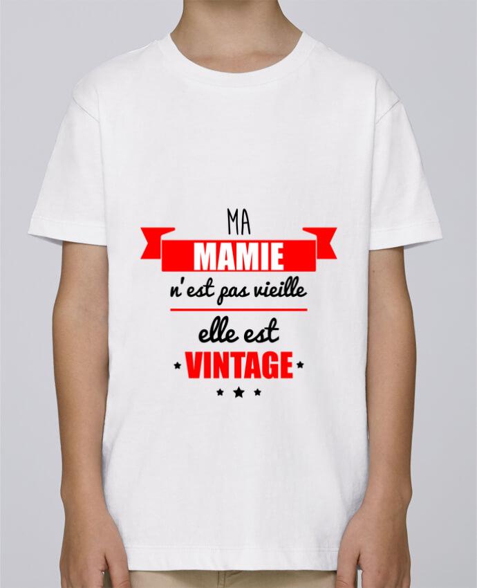 Tee Shirt Garçon Stanley Mini Paint Ma mamie n'est pas vieille elle est vintage par Benichan