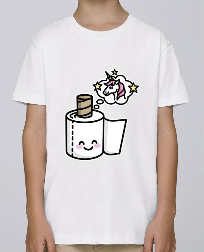 Tee Shirt Garçon Stanley Mini Paint Unicorn Toilet Paper par LaundryFactory