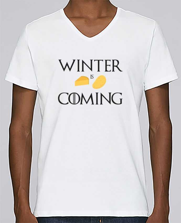 T-shirt Col V Homme Stanley Relaxes Winter is coming par Ruuud