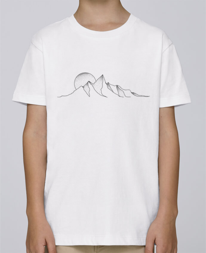 Tee Shirt Garçon Stanley Mini Paint mountain draw par /wait-design