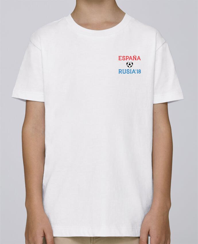 Tee Shirt Garçon Stanley Mini Paint España Rusia 2018 par tunetoo