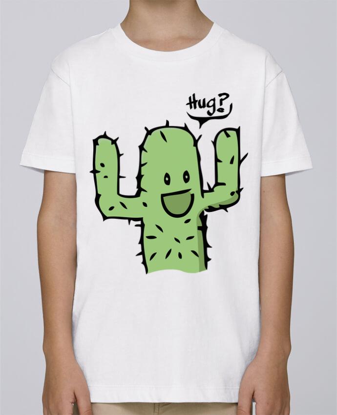 Tee Shirt Garçon Stanley Mini Paint cactus calin gratuit par Tête Au Carré