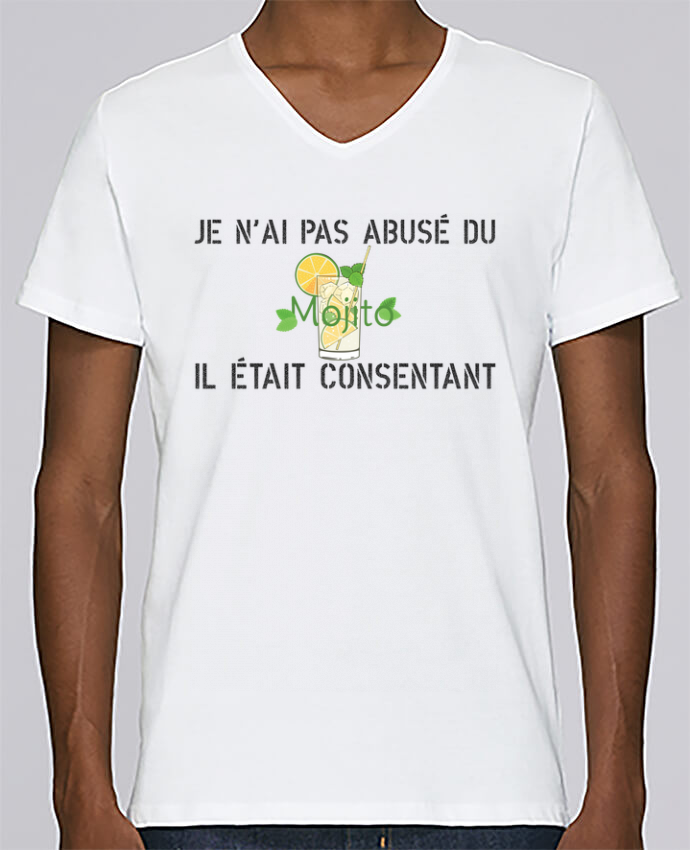 T-shirt Col V Homme Stanley Relaxes Je n
