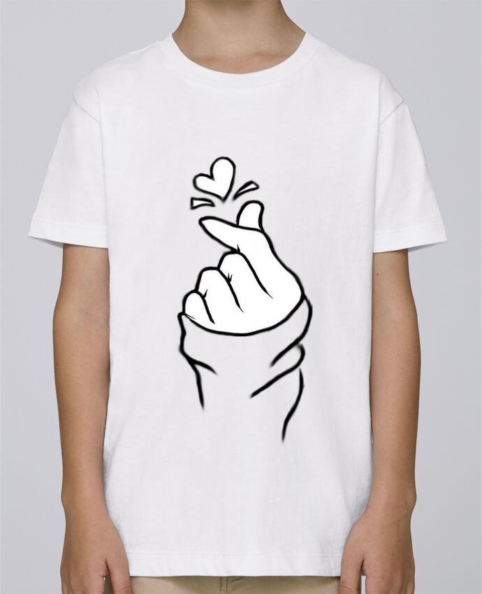 Tee Shirt Garçon Stanley Mini Paint love par DesignMe
