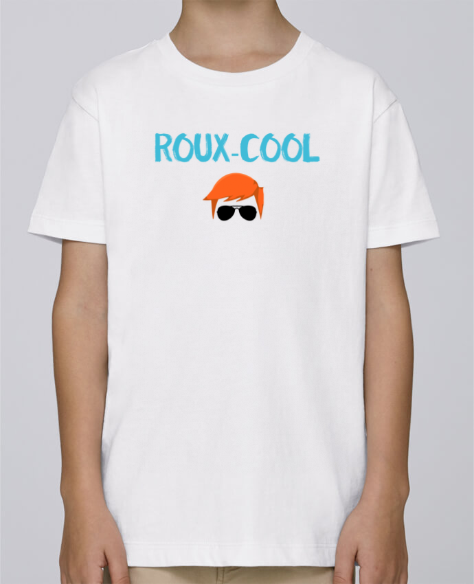 Tee Shirt Garçon Stanley Mini Paint Roux-cool par tunetoo