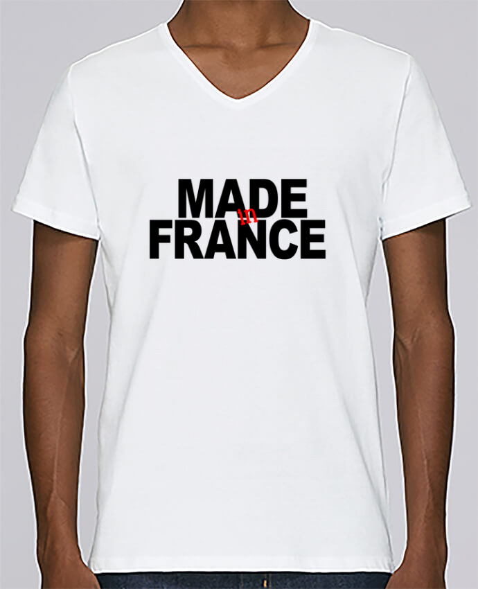 T-shirt Col V Homme Stanley Relaxes MADE IN FRANCE par 31 mars 2018