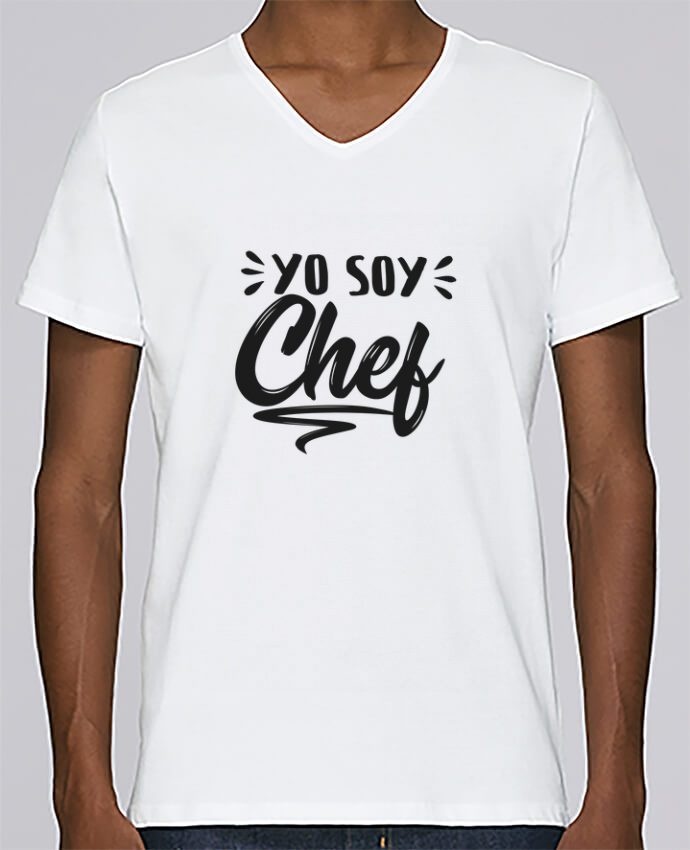 T-shirt Col V Homme Stanley Relaxes soy chef par tunetoo