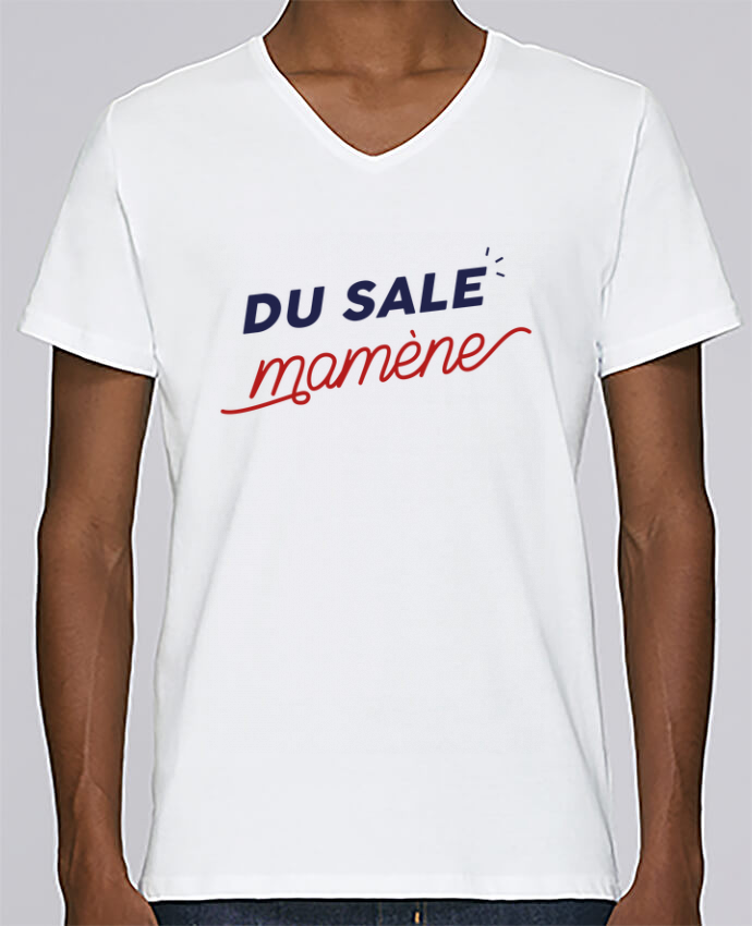 T-shirt Col V Homme Stanley Relaxes du sale mamène by Ruuud par Ruuud