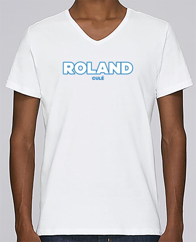 T-shirt Col V Homme Stanley Relaxes Roland culé par tunetoo