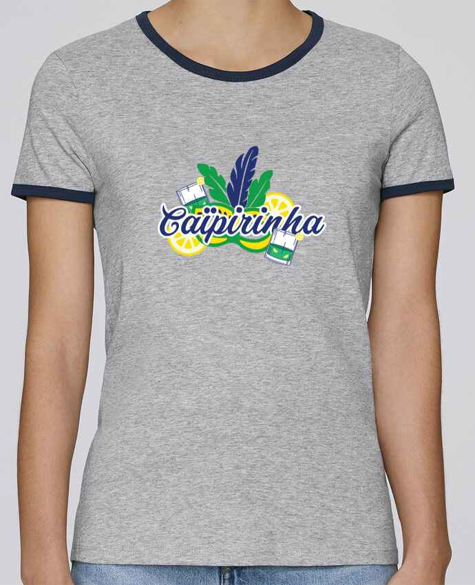 T-shirt Femme Stella Returns Caïpirinha Cocktail Summer pour femme par tunetoo