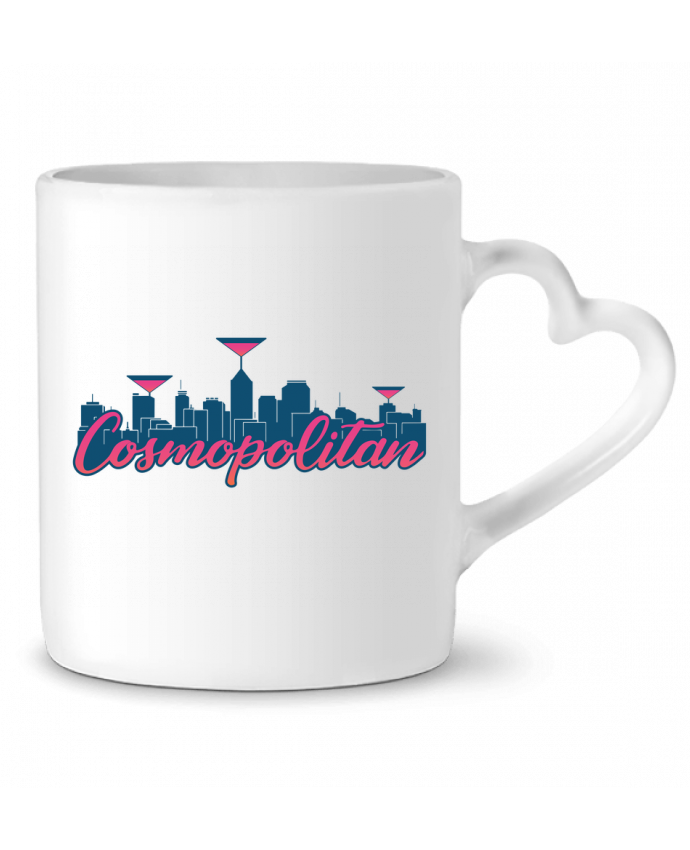 Mug Coeur Cosmopolitan Cocktail Summer par tunetoo
