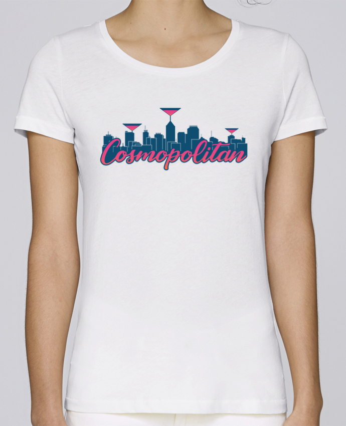 T-shirt Femme Stella Loves Cosmopolitan Cocktail Summer par tunetoo