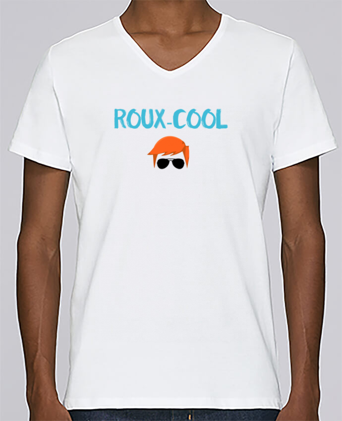 T-shirt Col V Homme Stanley Relaxes Roux-cool par tunetoo