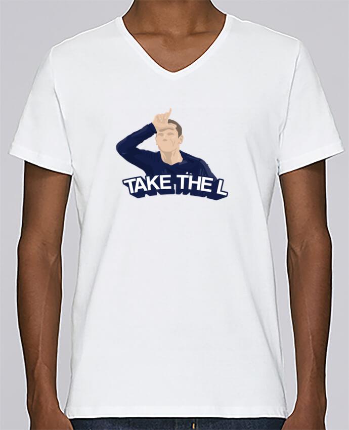 T-shirt Col V Homme Stanley Relaxes Griezmann célébration fortnite par tunetoo