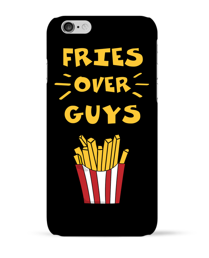 Coque 3D Iphone 6 Fries over guys par tunetoo