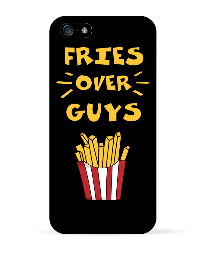 Coque iPhone 5 Fries over guys par tunetoo