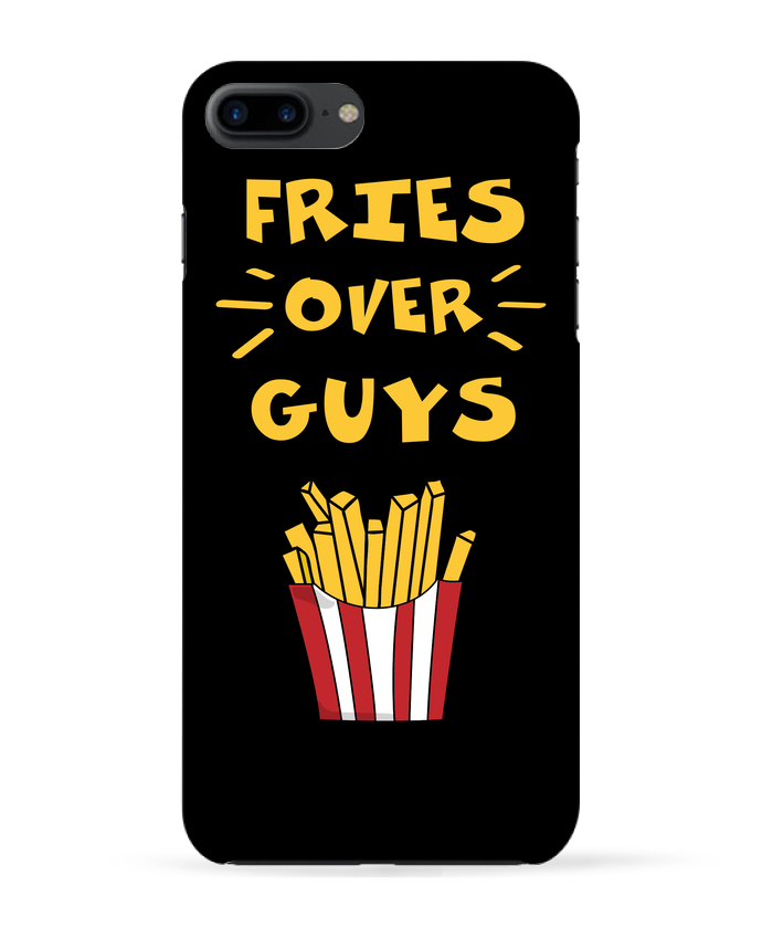 Coque iPhone 7 + Fries over guys par tunetoo