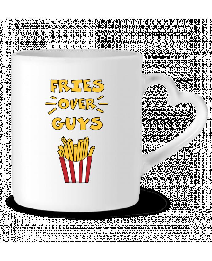 Mug Coeur Fries over guys par tunetoo