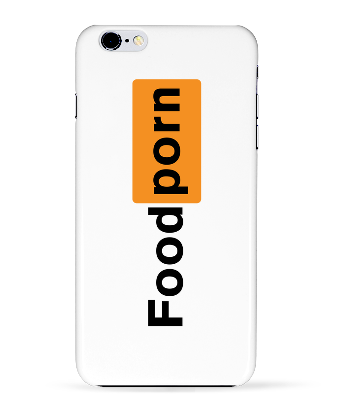 Coque 3D Iphone 6+ Foodporn Food porn de tunetoo