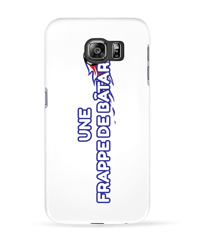 Coque 3D Samsung Galaxy S6 Frappe Pavard Chant - tunetoo