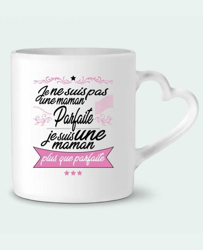 Mug Coeur Maman plus que parfaite par ShoppingDLN