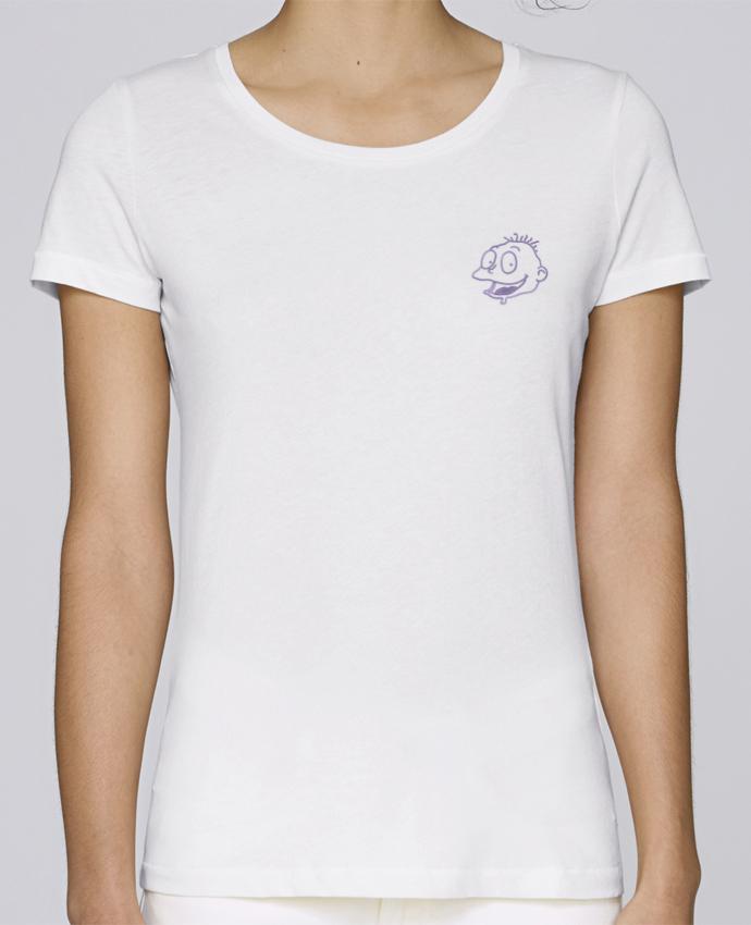 T-shirt  Femme Brodé Razmoket brodé par tunetoo