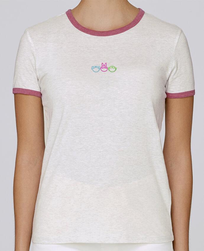 T-shirt Femme Stella Returns femme brodé Les Supers Nanas brodé par tunetoo