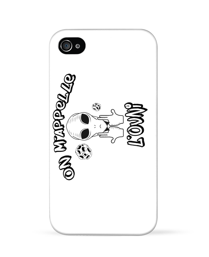 Coque iPhone 4 Ovni Jul par  tunetoo