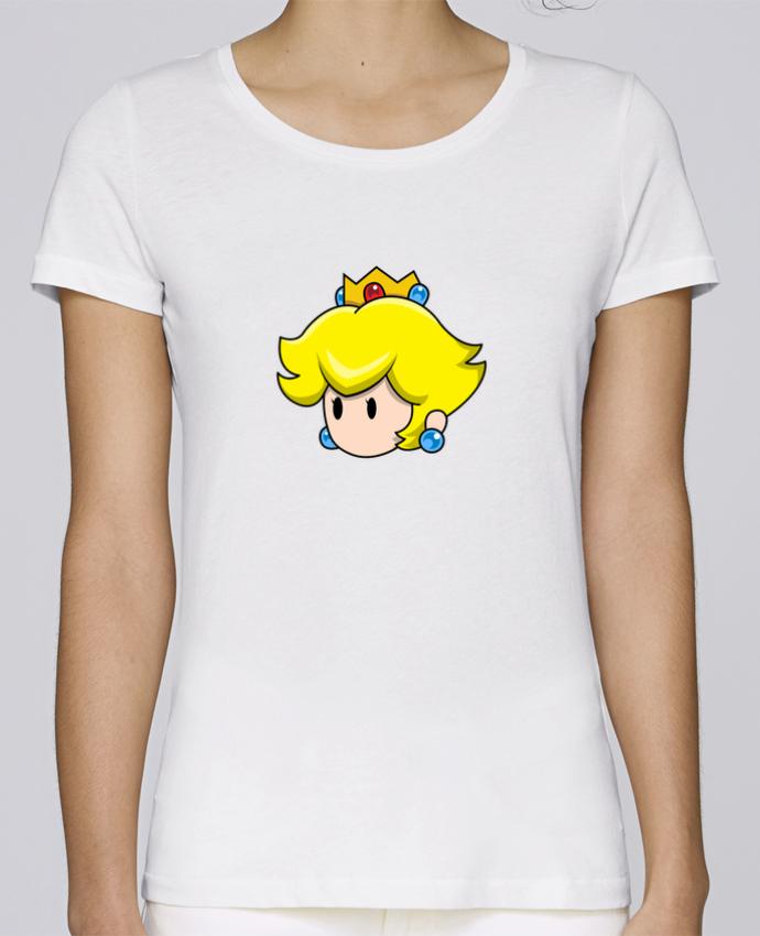 T-shirt Femme Stella Loves Princesse Peach Duo par tunetoo