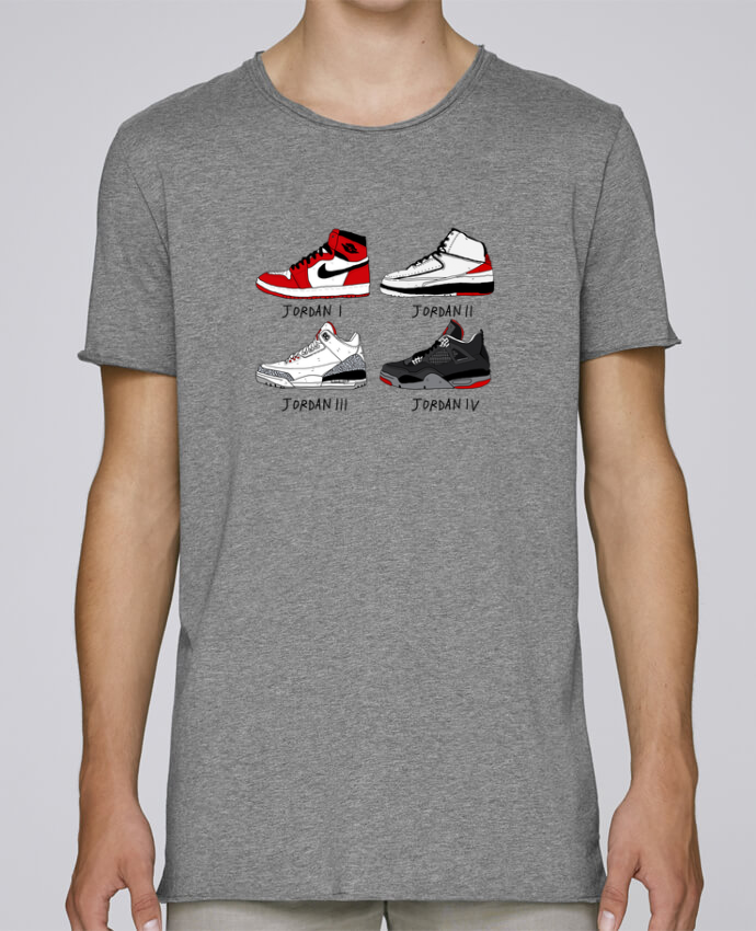 T-shirt Homme Oversized Stanley Skates Best of Jordan par Nick cocozza