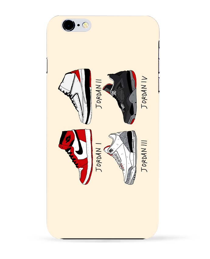 Coque 3D Iphone 6+ Best of Jordan de Nick cocozza
