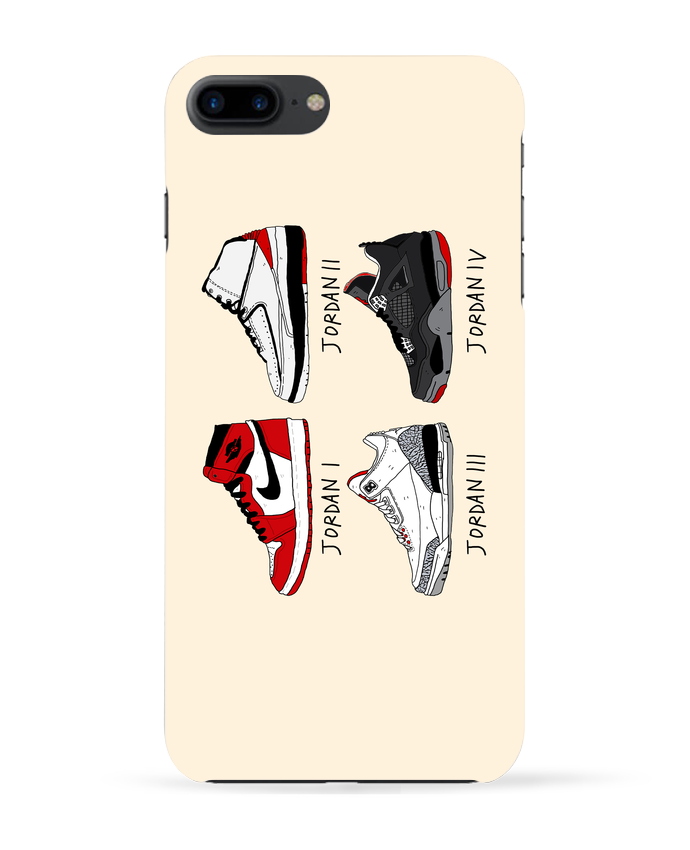 Coque 3D Iphone 7+ Best of Jordan par Nick cocozza