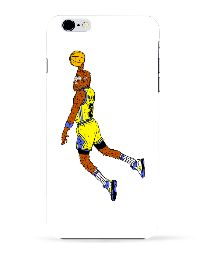 Coque 3D Iphone 6+ Jordan Wolf de Nick cocozza