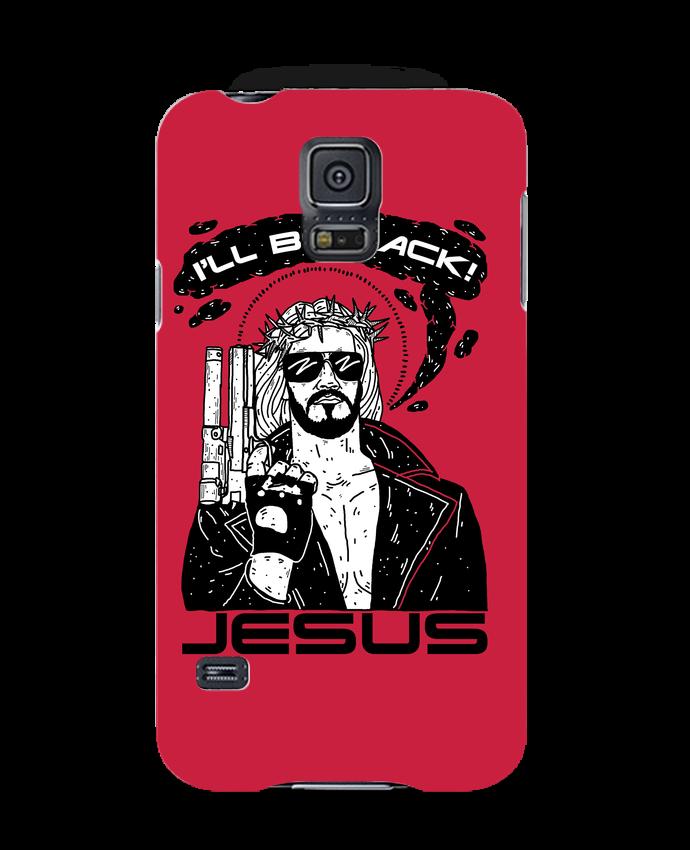 Coque Samsung Galaxy S5 Terminator Jesus par Nick cocozza