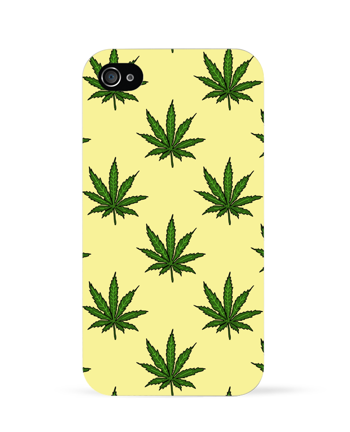 3765051 coque 3d iphone 4 blanc cannabis by nick cocozza