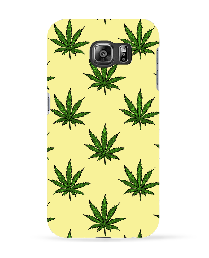 Coque 3D Samsung Galaxy S6 Cannabis - Nick cocozza
