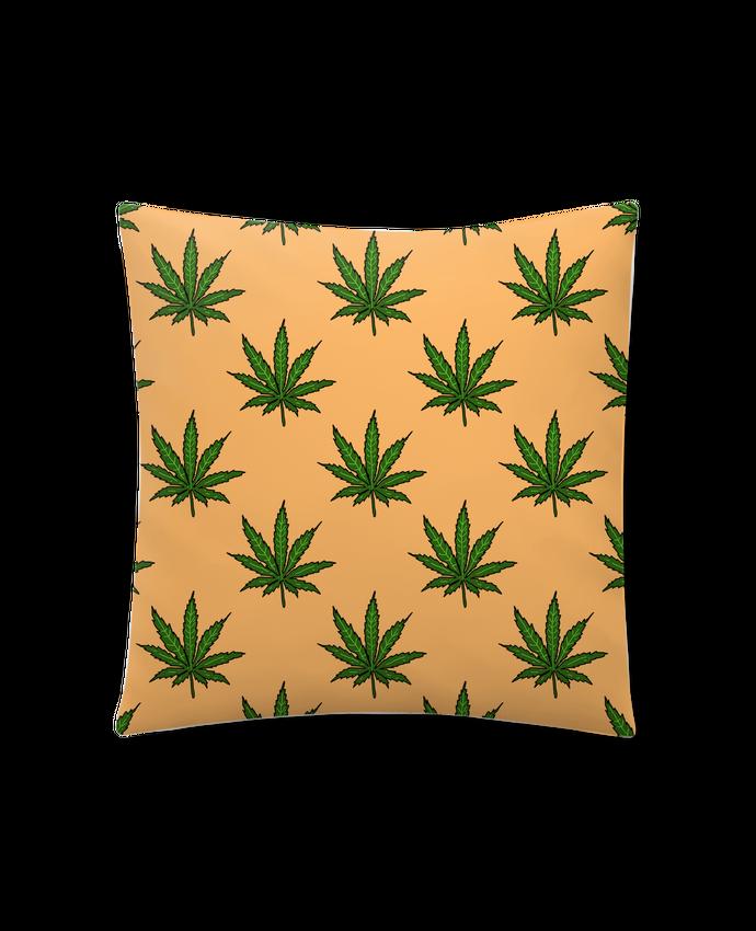 Coussin Synthétique Doux 41 x 41 cm Cannabis par Nick cocozza