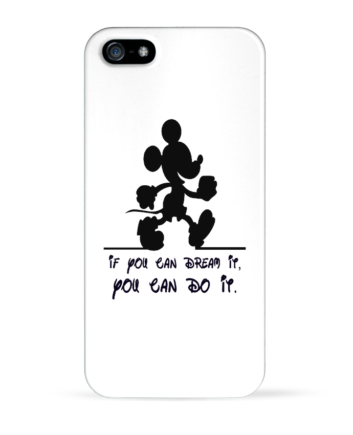Coque iPhone 5 MICKEY DREAM par stephfen
