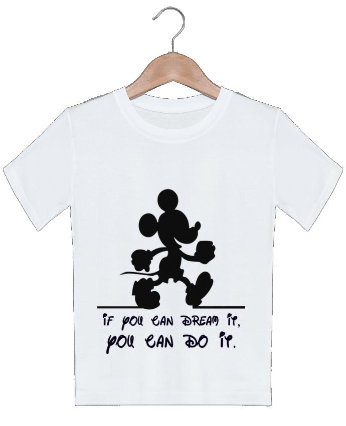 T-shirt garçon motif MICKEY DREAM stephfen