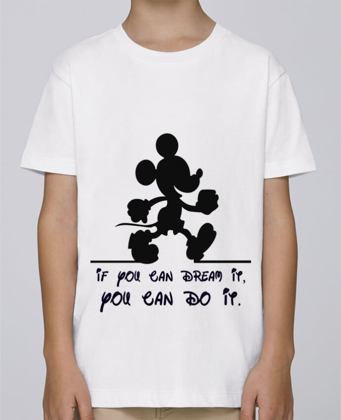 Tee Shirt Garçon Stanley Mini Paint MICKEY DREAM par stephfen