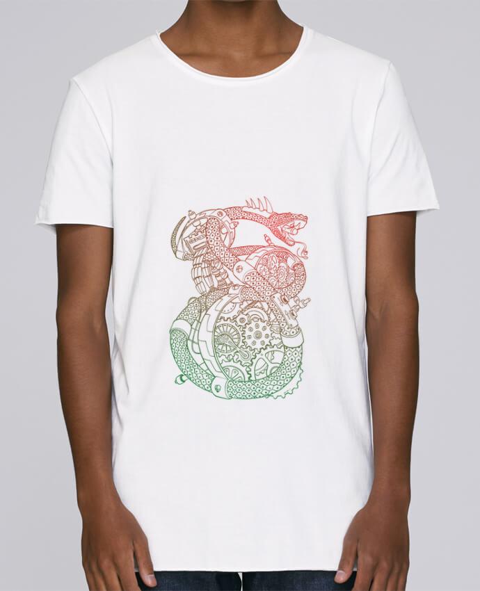 T-shirt Homme Oversized Stanley Skates Méca Serpent par Tomi Ax