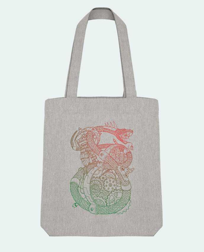 Tote Bag Stanley Stella Méca Serpent par Tomi Ax