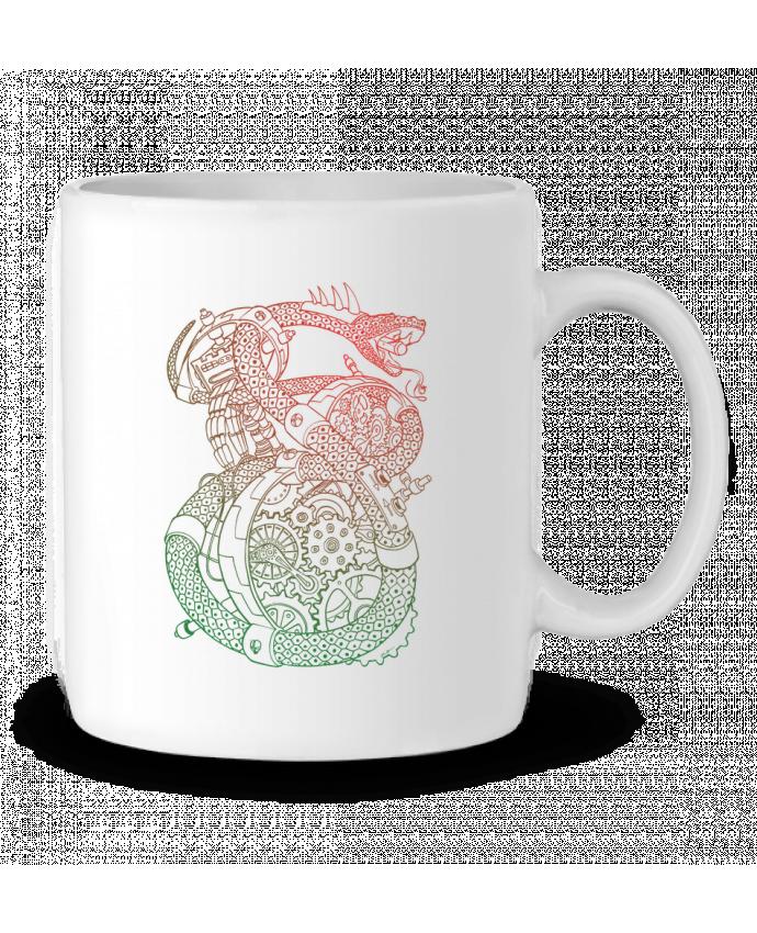 Mug en Céramique Méca Serpent par Tomi Ax