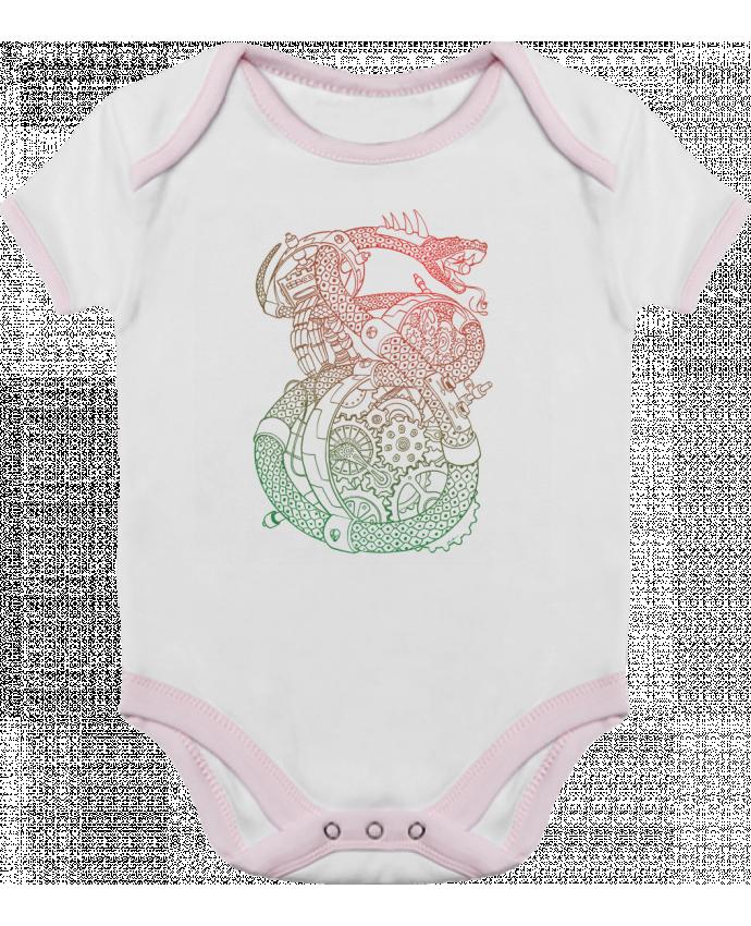 Body Bébé Contrasté Méca Serpent par Tomi Ax